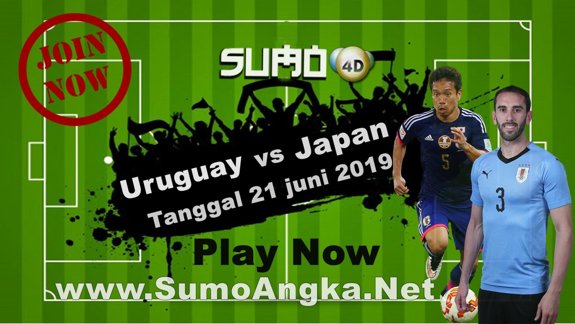 Uruguay vs Japan 21 Juni 2019 Copa America Cup