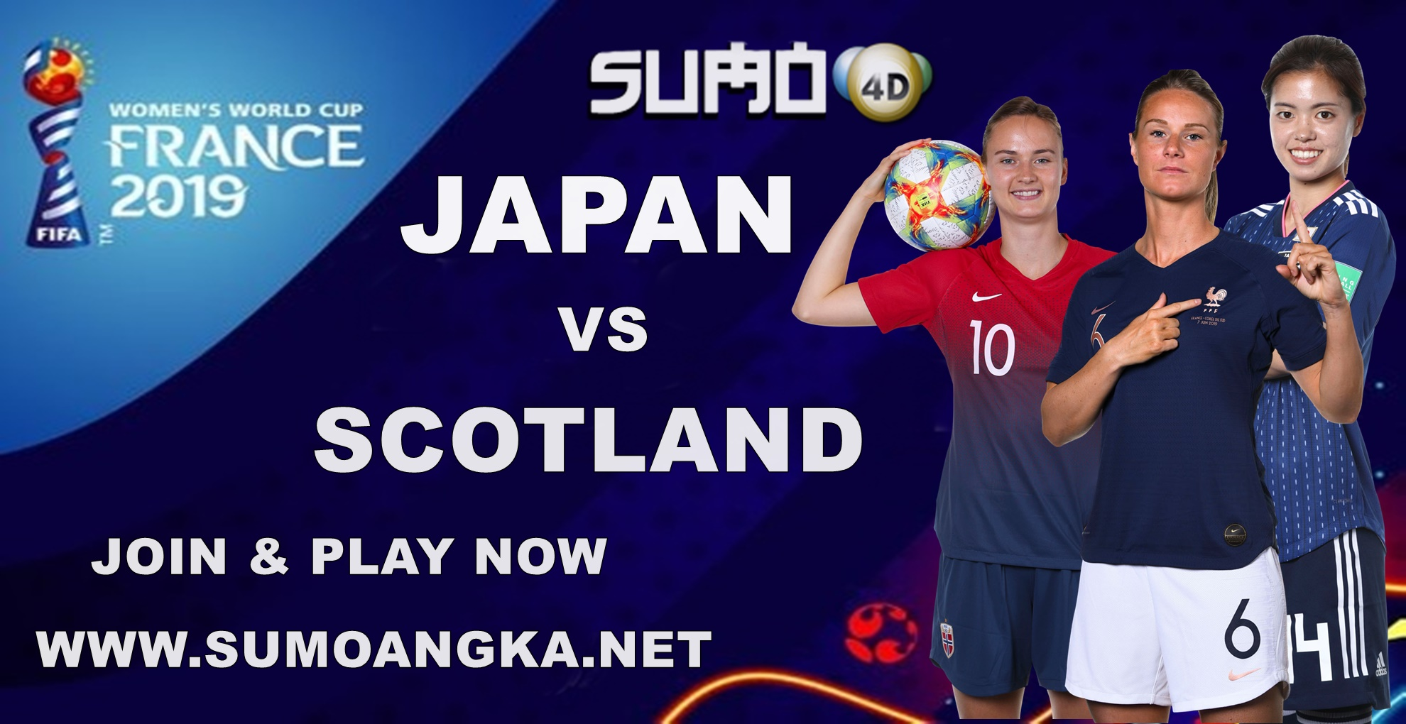 Prediksi Bola Japan vs Scotland 14 Juni 2019 Women World Cup