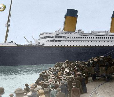 Titanic Tenggelam Bukan karena Gunung Es