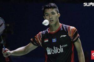 Tim badminton Indonesia