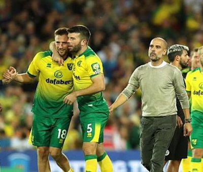 Kekalahan 2-3 dari Norwich City