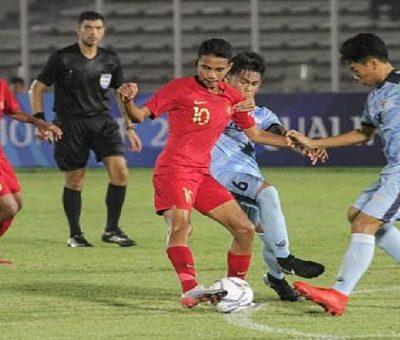 Timnas U-16 Indonesia menang