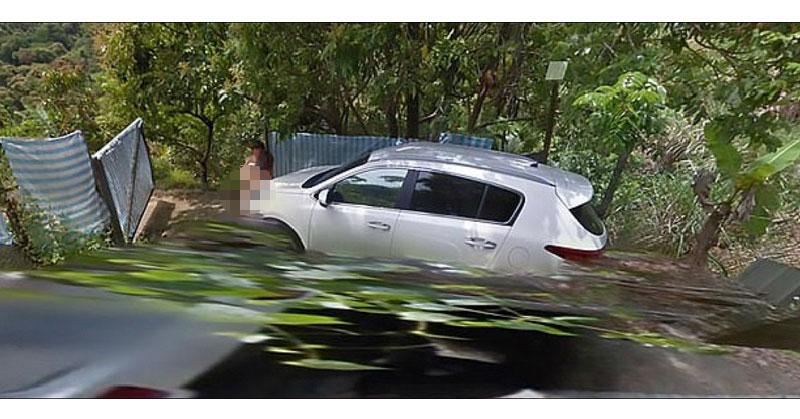 Pasangan Mesum di Pinggir Jalan Terciduk Kamera Google Maps