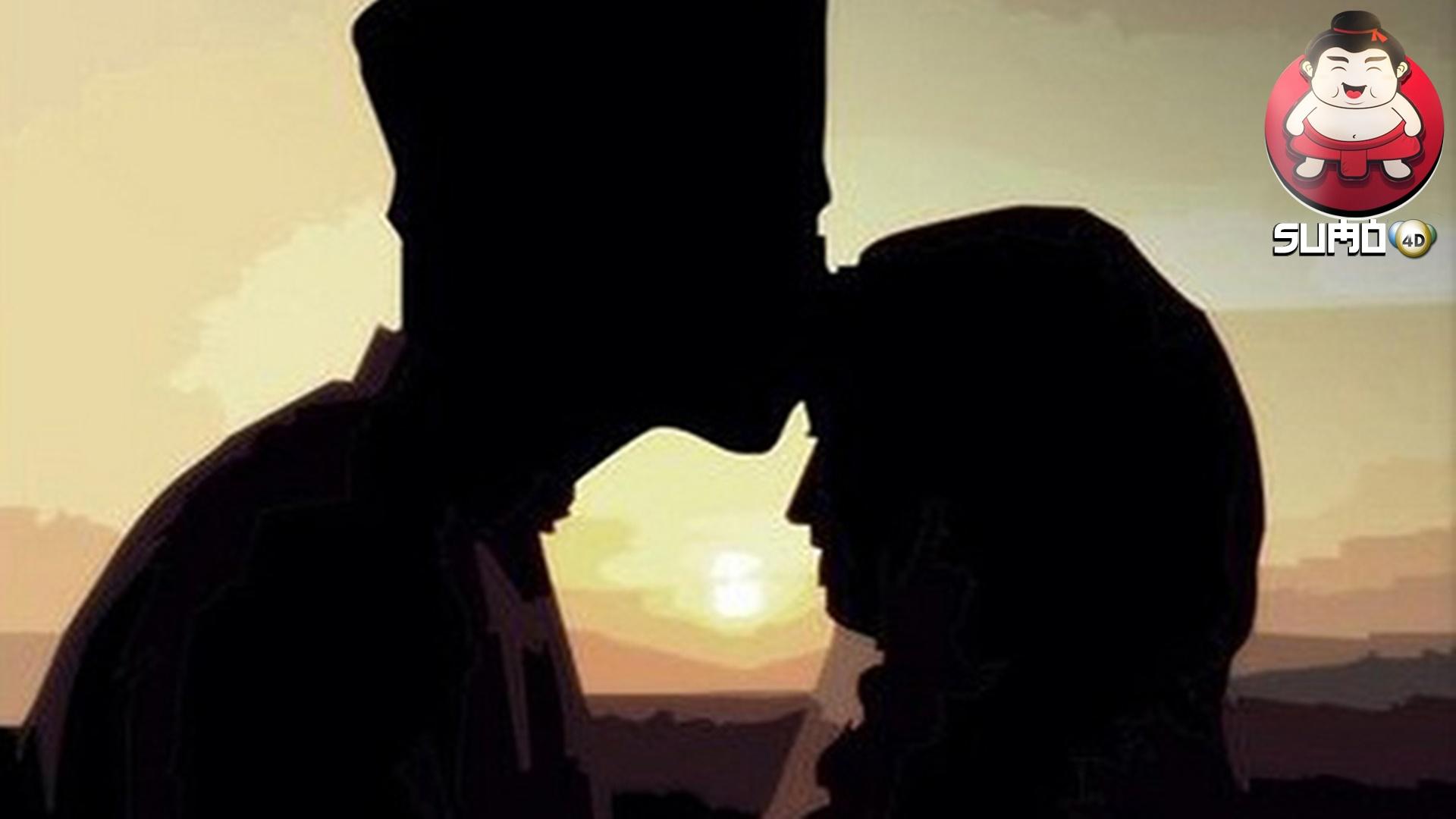 Ilustrasi Pasangan Suami Istri Muslim, Yang Sedang berbulan Madu