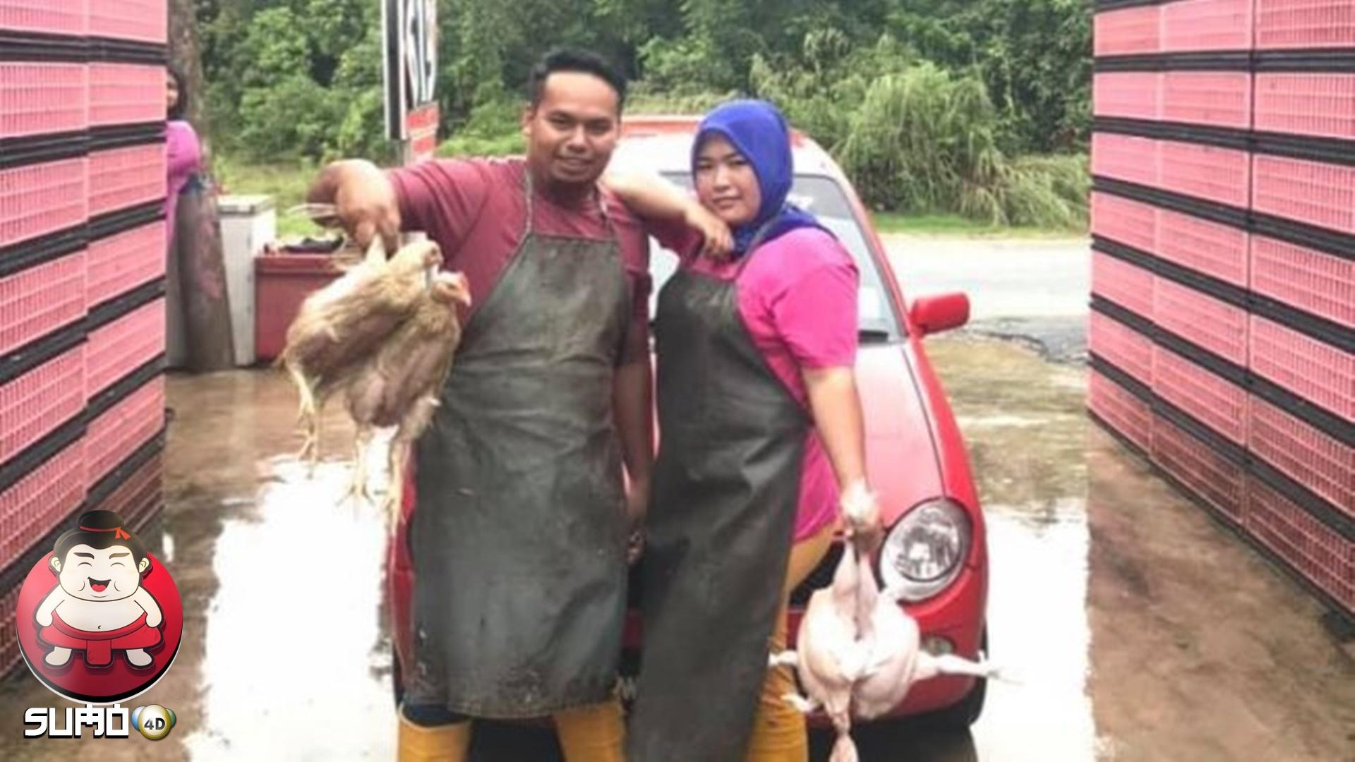 Viral, Istri Tukang Ayam Belikan Mobil Mewah Rp 800 Juta untuk Suami