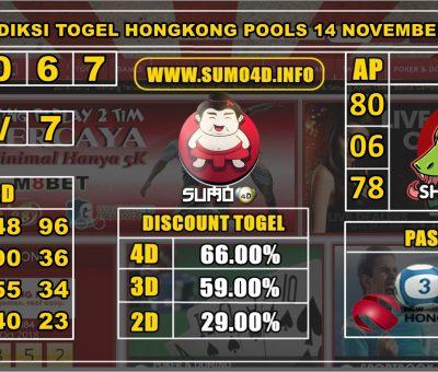 PREDIKSI TOGEL HONGKONG POOLS 14 NOVEMBER 2019