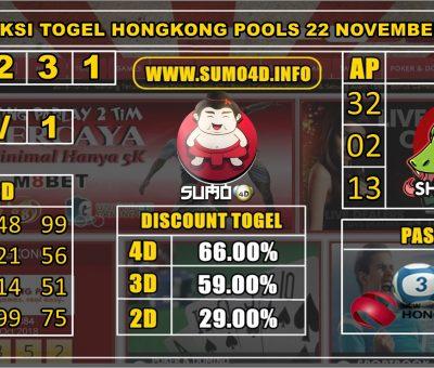 PREDIKSI TOGEL HONGKONG POOLS 22 NOVEMBER 2019