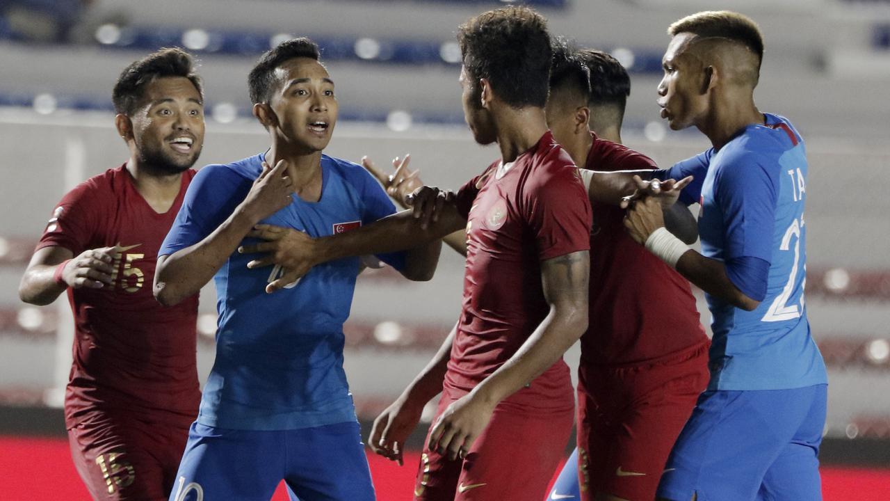 Bintang Timnas Indonesia U-22 Maafkan Pemain Singapura di Medsos