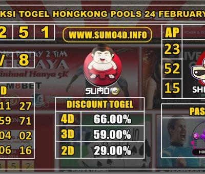 PREDIKSI TOGEL HONGKONG POOLS 24 FEBRUARY 2020