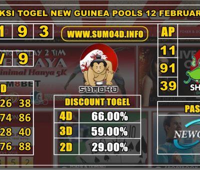 PREDIKSI TOGEL NEW GUINEA POOLS 12 FEBRUARY 2020