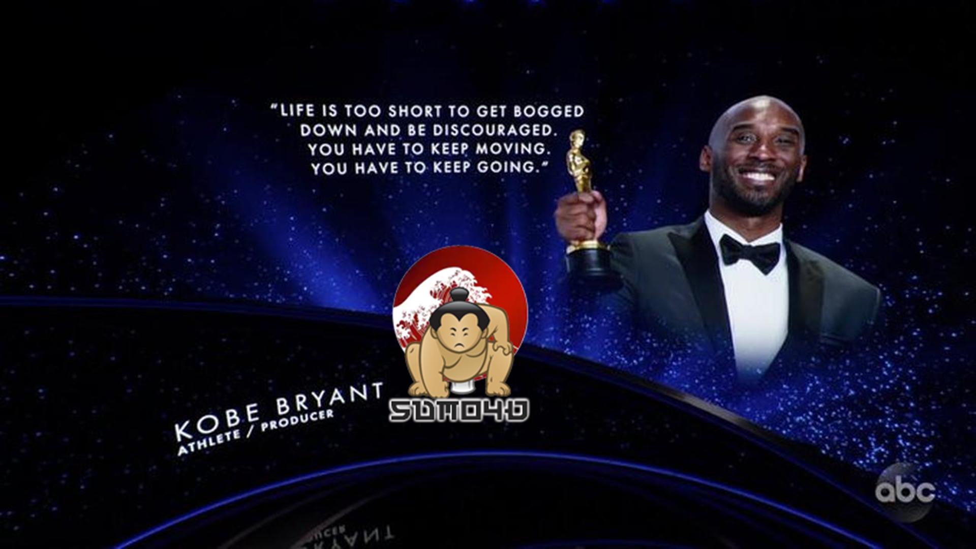 Momen Penghormatan untuk Kobe Bryant pada Oscar 2020