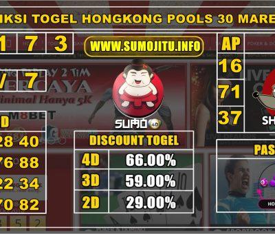 PREDIKSI TOGEL HONGKONG POOLS 30 MARET 2020