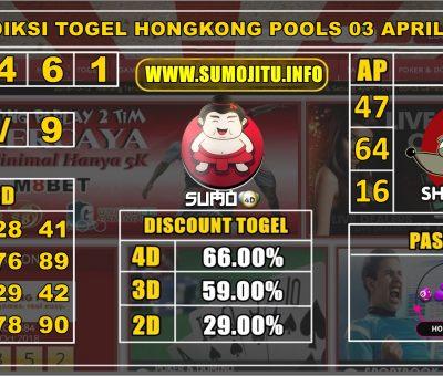 PREDIKSI TOGEL HONGKONG POOLS 03 APRIL 2020