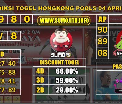 PREDIKSI TOGEL HONGKONG POOLS 04 APRIL 2020