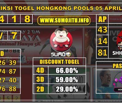 PREDIKSI TOGEL HONGKONG POOLS 05 APRIL 2020