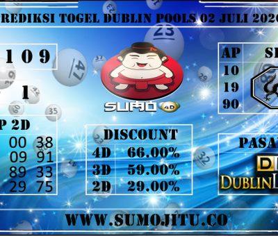 PREDIKSI TOGEL DUBLIN POOLS 02 JULI 2020