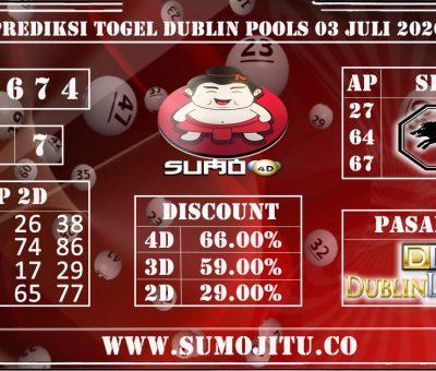 PREDIKSI TOGEL DUBLIN POOLS 03 JULI 2020