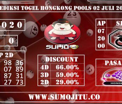 PREDIKSI TOGEL HONGKONG POOLS 02 JULI 2020