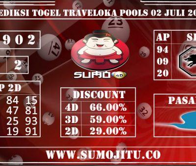 PREDIKSI TOGEL TRAVELOKA POOLS 02 JULI 2020