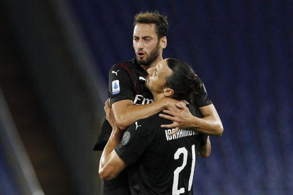 AC Milan Bekap Lazio, Zlatan Ibrahimovic Cetak Gol dan Assist