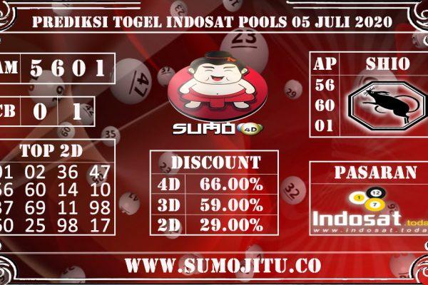 PREDIKSI TOGEL INDOSAT POOLS 05 JULI 2020
