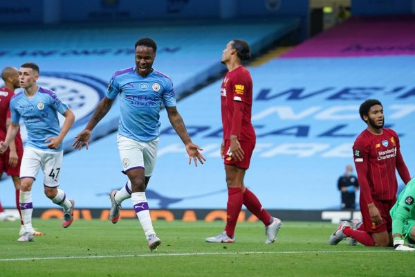 Manchester City Gunduli Juara Inggris Liverpool 4-0