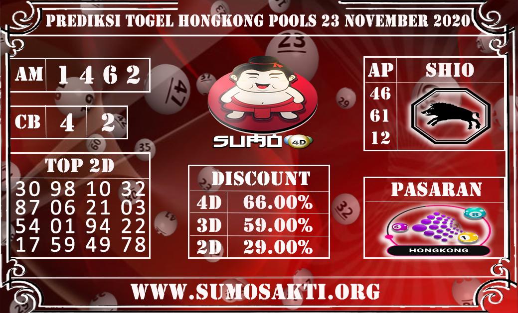 Prediksi Togel Hongkong Pools 23 November 2020