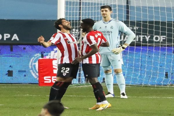 Kalah oleh Athletic Bilbao