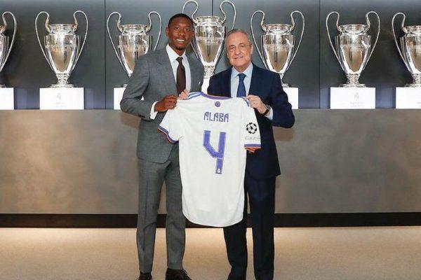 Real Madrid Pagari David Alaba dengan Pelepasan 850 Juta Euro