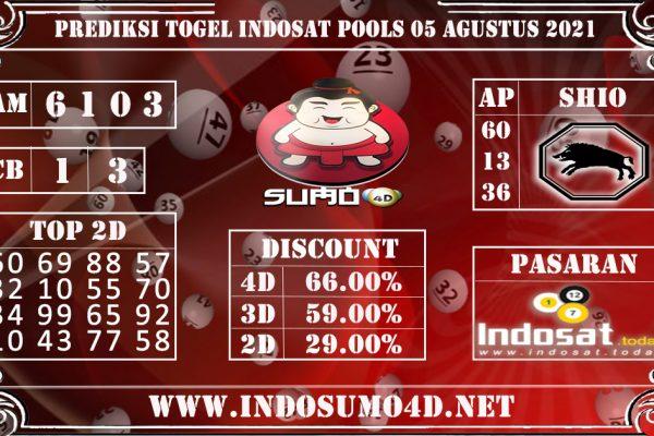 PREDIKSI TOGEL INDOSAT POOLS 05 AGUSTUS 2021